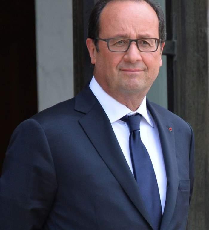 Au apărut primele fotografii cu preşedintele Hollande și amanta, actriţa Julie Gayet