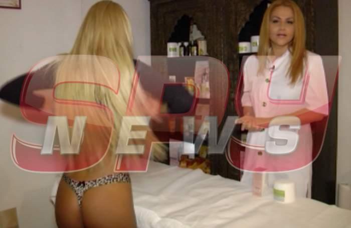 VIDEO /Bărbaţii vor aprecia! Uite ce îi face Oana Turcu Loredanei Chivu!