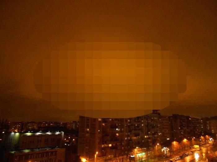 Fenomen STRANIU pe cerul Bucureştiului, după CUTREMUR! Oamenii au încremenit când au văzut ASTA