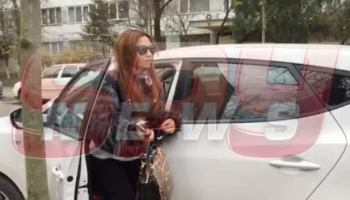 VIDEO / Narcisa Guţă, din nou la poliţie! Vezi cât de mult a slăbit!