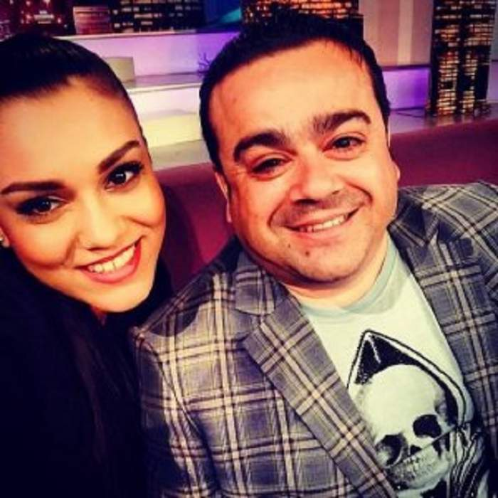 Prima imagine cu fiica lui Adi Minune după despărţirea de Franco! Cum se distrează Carmen acasă la părinţi