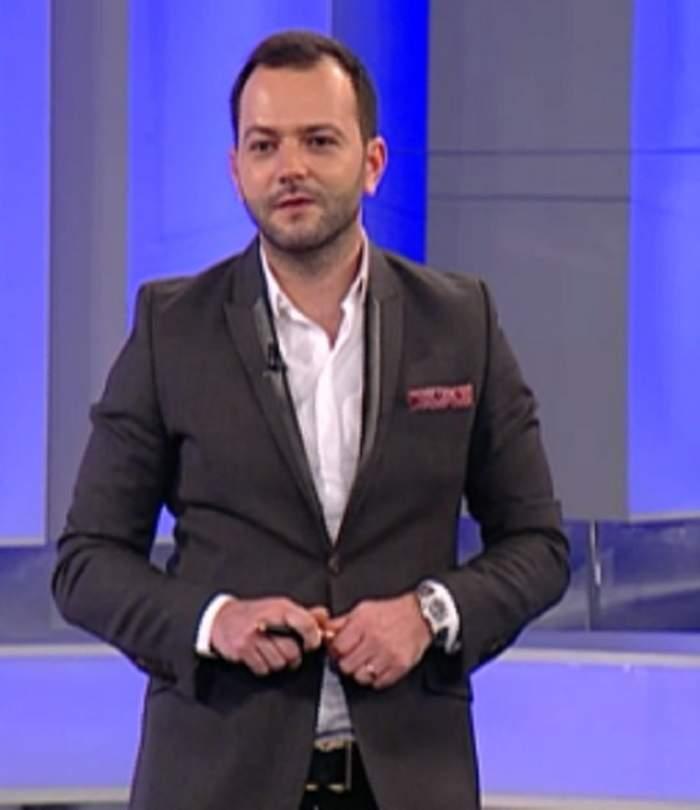 VIDEO / Mihai Morar, poziţii indecente în emisiune! I-a pus mâna pe fund Corinei Bud