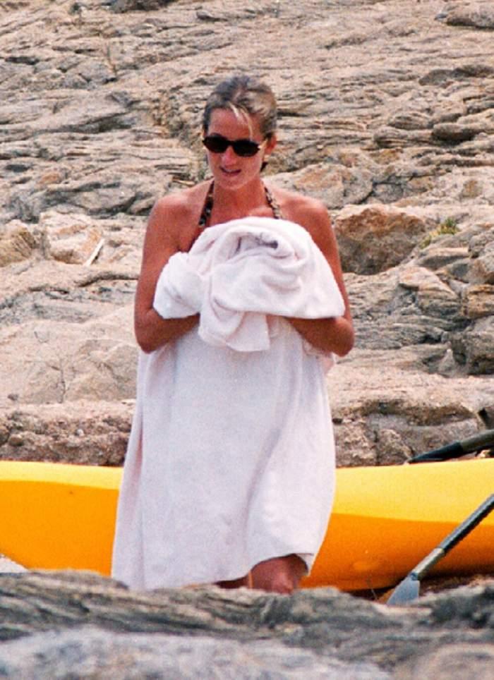 Imagini de colecţie din ultima vacanţă a Prinţesei Diana cu Dodi Al Fayed