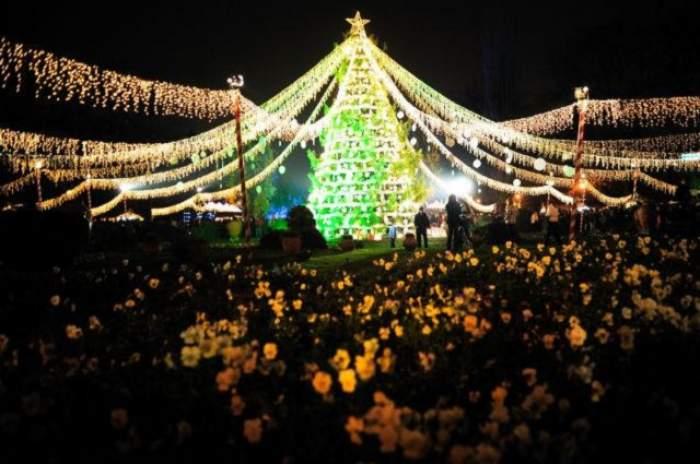 Vin Sărbătorile! Trei milioane de beculeţe de Crăciun vor fi aprinse mâine în Bucureşti