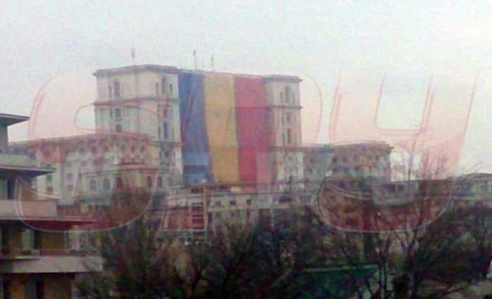FOTO EXCLUSIV! Repetiţie pentru Ziua Naţională a României!