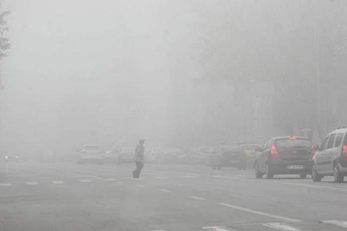 COD GALBEN de ceaţă! Până când este valabilă avertizarea meteorologilor