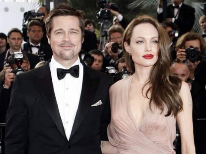"""Angelina Jolie Şi Brad Pitt, probleme în căsnicie deja? Copiii nu se aşteaptă ca noi să ne certăm"""""""