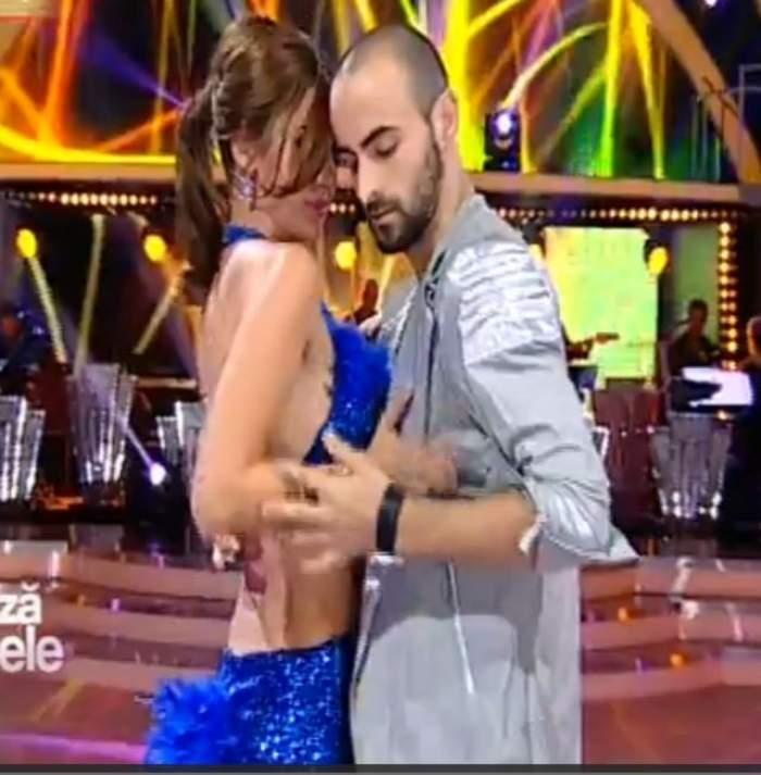 "VIDEO/ Alina şi Iuri, atingeri senzuale la ""Dansează printre stele""! O samba care te va ispiti"
