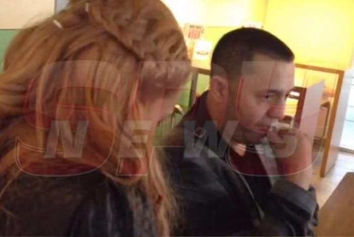 VIDEO / După o noapte nebună petrecută împreună, uite ce fac acum Beyonce de România şi Nicolae Guţă! Paparazzii Spynews.ro sunt pe urmele lor