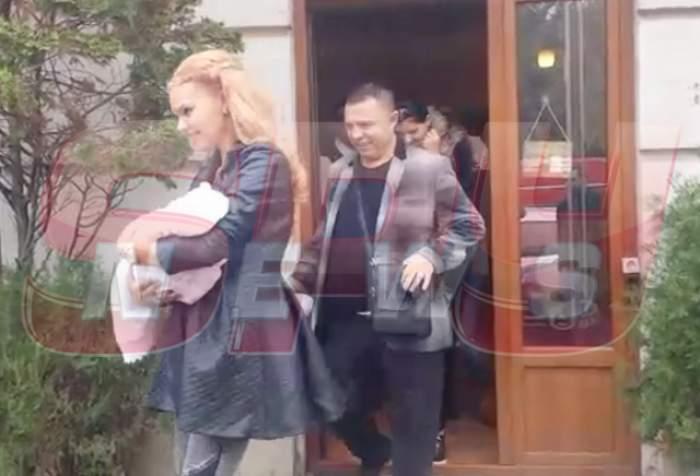 VIDEO / ŞOC! Beyonce de România şi Nicolae Guţă, la spital, din nou, cu fetiţa! Vezi ce s-a întâmplat!