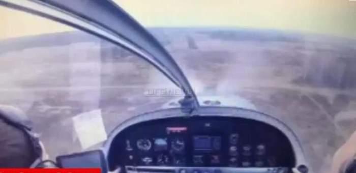 VIDEO/ Imaginile groazei din timpul prăbuşirii unui avion! Momentul impactului, filmat din cabina de pilotaj