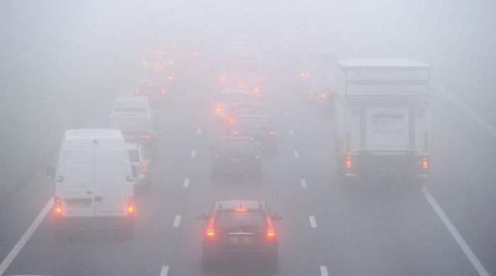 COD GALBEN de ceaţă! Vizibilitatea va scădea sub 200 de metri