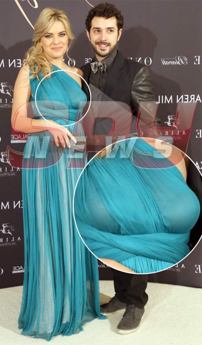 Transformarea radicală a iubitei lui Marius Moga! E gravidă sau şi-a pus silicoane?