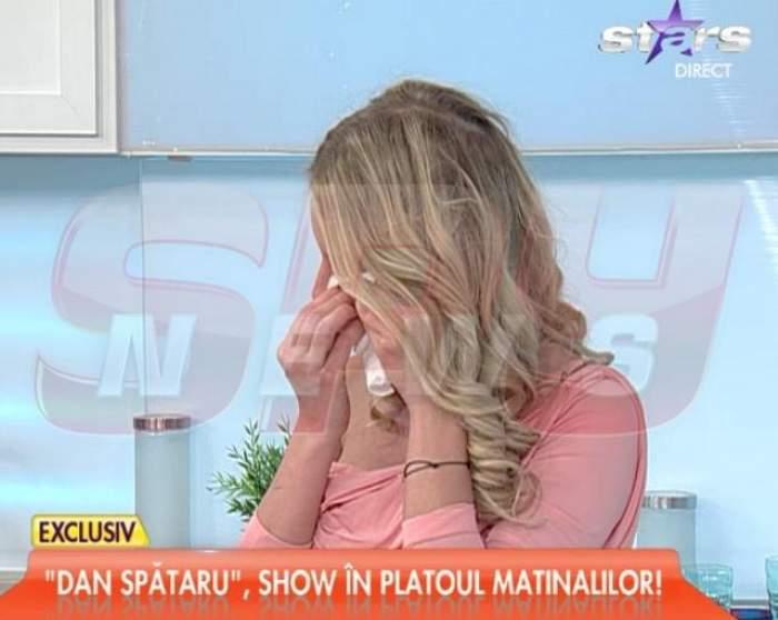 """VIDEO / Florentina Raiciu a PLÂNS în direct, la """"Star matinal""""! Motivul este incredibil"""