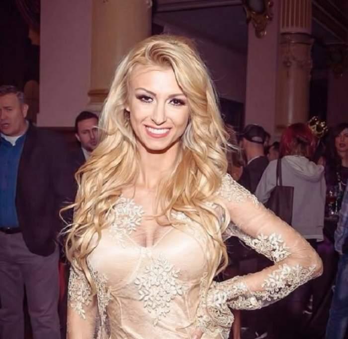 Cea mai sexy Crăciuniţă! Andreea Bălan s-a îmbrăcat atât de sumar la un concert, încât nu-ţi mai iei ochii de la ea