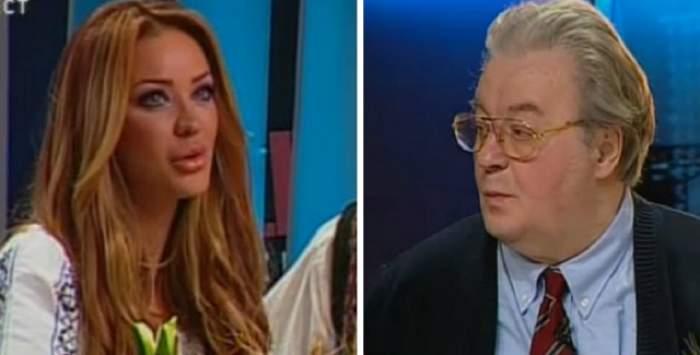 """Vadim Tudor """"s-a luat"""" de Bianca Drăguşanu, în direct? """"Sper să facă copii cretini!"""" Cum a reacţionat fosta soţie a lui Victor Slav"""