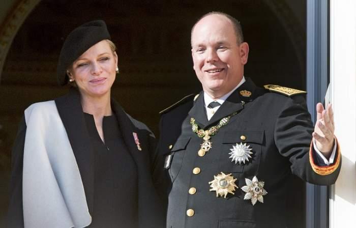 VIDEO / Sărbătoare la Monaco! Prinţesa Charlene a născut un băiat şi o fetiţă gemeni, primii copii ai cuplului princiar