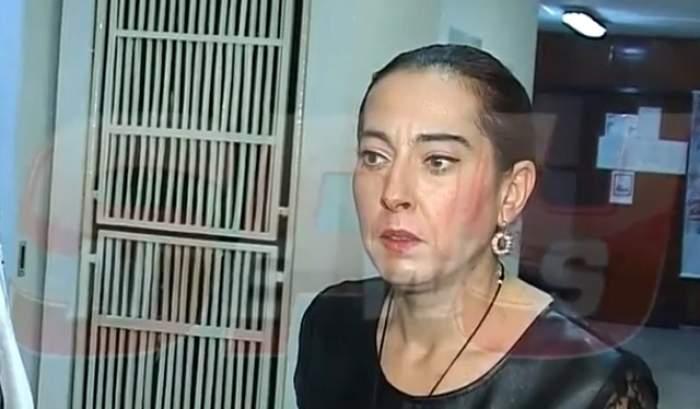 """VIDEO /  Angelica Constantin l-a înjurat pe Cristi Brancu şi a agresat echipa """"Agentul VIP""""! Imaginile nu mai au nevoie de nicio descriere"""