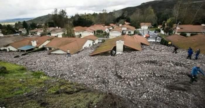 VIDEO / Los Angeles-ul, lovit de tornadă pentru prima dată în 10 ani! Oraşul a fost acoperit de ape