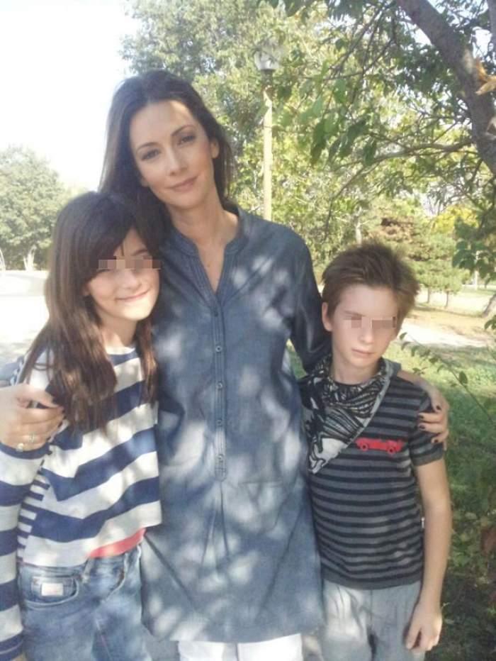 Cum se înţeleg copiii Andreei Berecleanu cu iubitul ei! Ştirista spune tot