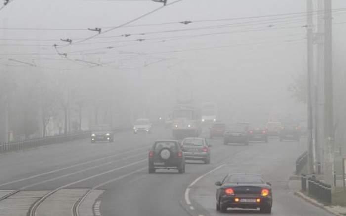 Meteorologii avertizează! Ceaţa va pune stăpânire pe România în următoarele ore!