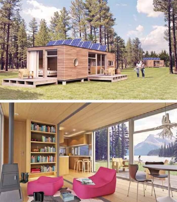 Casa-container, locuinţa de vis pentru nonconformişti! Cum arată viaţa în ea