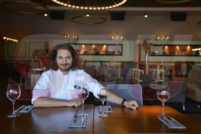 Florin Dumitrescu gătește în scop caritabil preparate delicioase! Ce poţi mânca dacă vii la masă