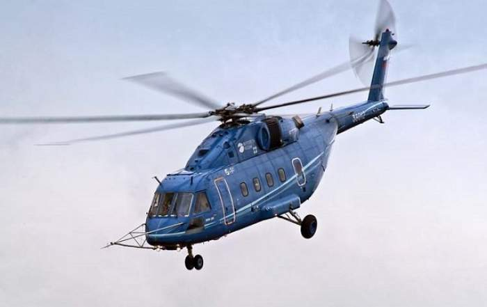 Elicopter prăbuşit în lacul Siutghiol! Trei pasageri sunt daţi dispăruţi şi o asistentă a fost resuscitată