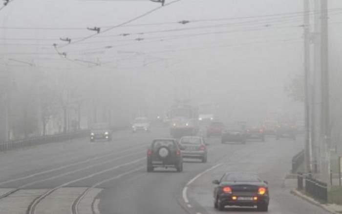 Şoferi, atenţie la drumuri! Avertizare de COD GALBEN de CEAŢĂ, în mai multe judeţe din ţară