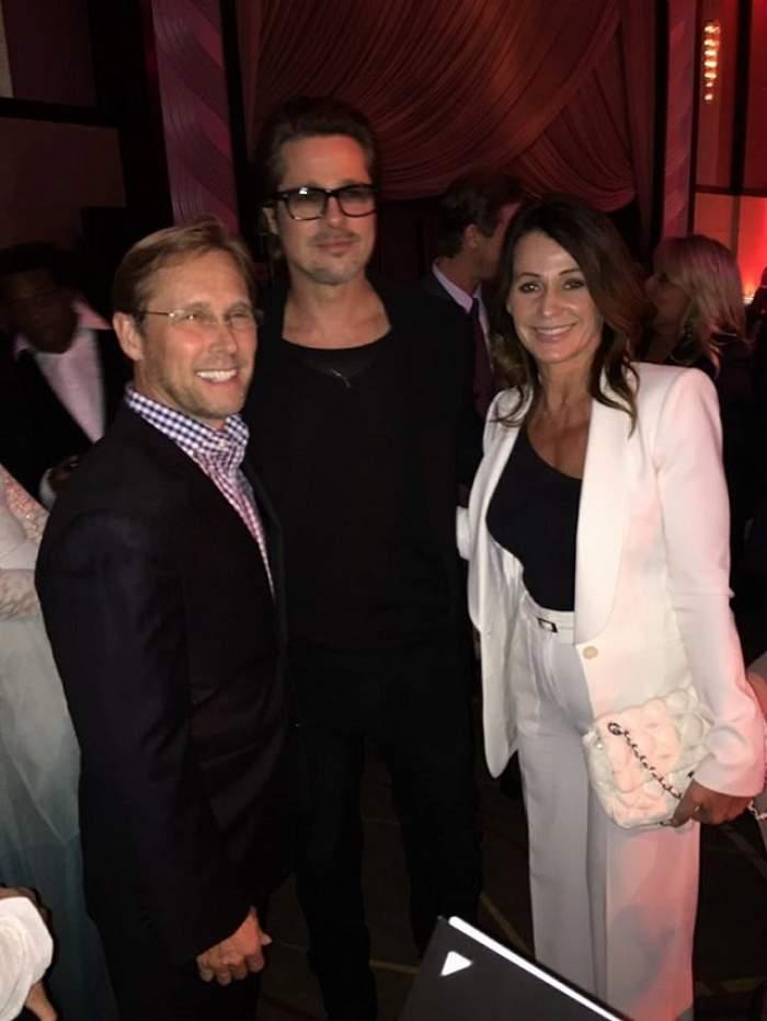 """Din categoria """"Pe unde mai umblă Nadia Comăneci"""". Românca a ajuns la braţul lui Brad Pitt!"""