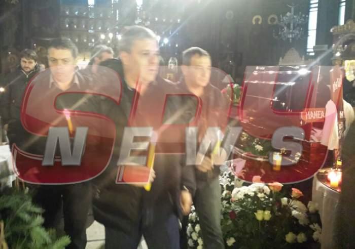 Video/Oficialii Rapidului şi Marius Şumidică i-au adus lui Nae Manea un ultim omagiu!