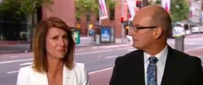 VIDEO / Reacţia unei prezentatoare TV care a aflat în direct că o prietenă de-a ei A MURIT în atacul de la Sydney! Femeia era avocată şi avea trei copii