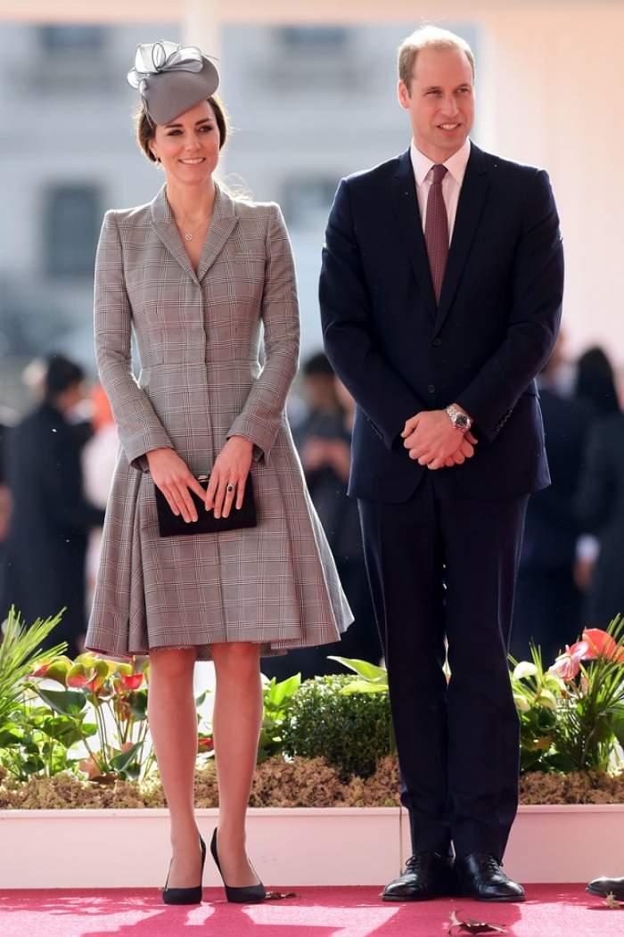 VIDEO / Kate Middleton a renunţat de rochie în trimestrul al doilea de sarcină! Imaginile au emoţionat o lume întreagă