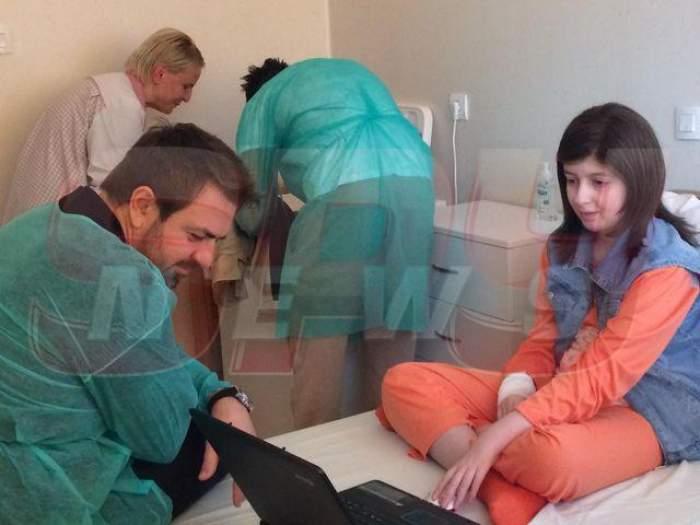 Imagini emoţionante! Horia Brenciu a ajuns la spital!