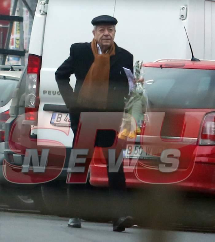 Pentru cine cumpără flori Ion Dichiseanu? Explicaţia lui este...fabuloasă