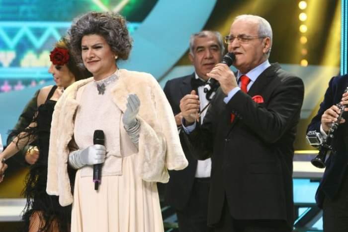 """VIDEO / Nelu Ploieşteanu, pe scena de la """"Te cunosc de undeva""""! Duet de excepţie cu Maria Buză"""
