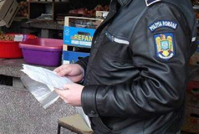 """Jaf marca """"Poliţia Română""""! Agenţi acuzaţi de tâlhărie după ce şi-au umplut sacoşele pentru sărbătorile de iarnă"""