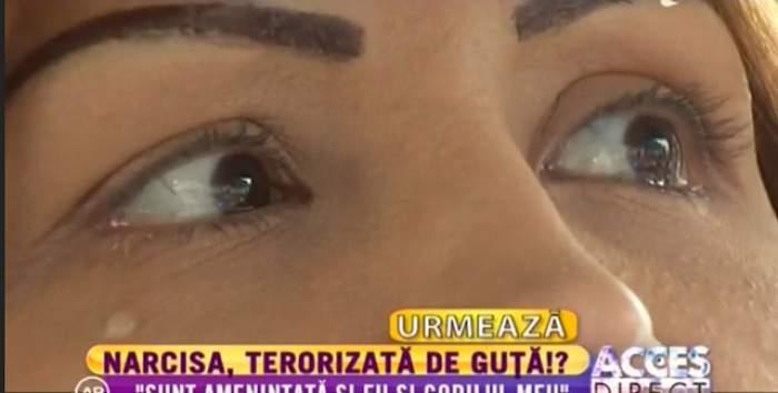 """Narcisa, cu LACRIMI în ochi! Nicolae Guţă O TERORIZEAZĂ? """"E un mincinos şi un prefăcut!"""""""