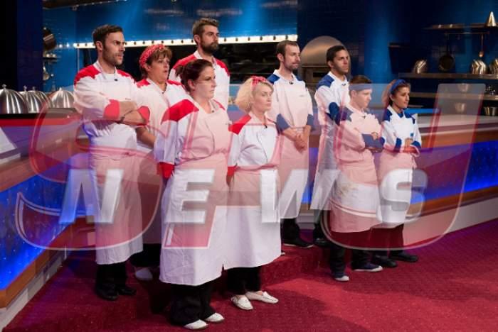 """Concurenții de la """"Hell's Kitchen – Iadul Bucătarilor"""", prin noroi la propriu! La ce probă au fost supuşi"""