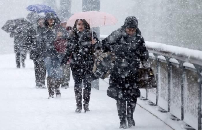 COD GALBEN de ninsori, ploi şi polei! Până când este valabilă atenţionarea meteorologilor