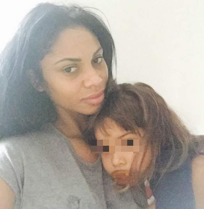 Fetiţa lui Laurette a fost internată în spital! Care este acum starea micuţei Serena