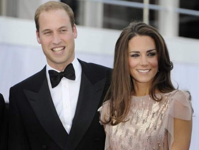 VIDEO / A scăpat de greţuri şi a reluat obligaţiile princiare! Primele imagini cu burtica de graviduţă a lui Kate Middleton
