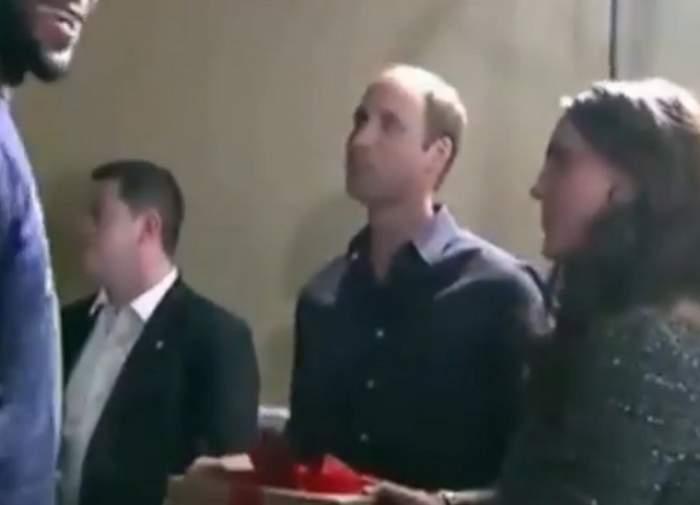 VIDEO / James LeBron a încălcat protocolul! Ce i-a făcut baschetbalistul lui Kate Middleton