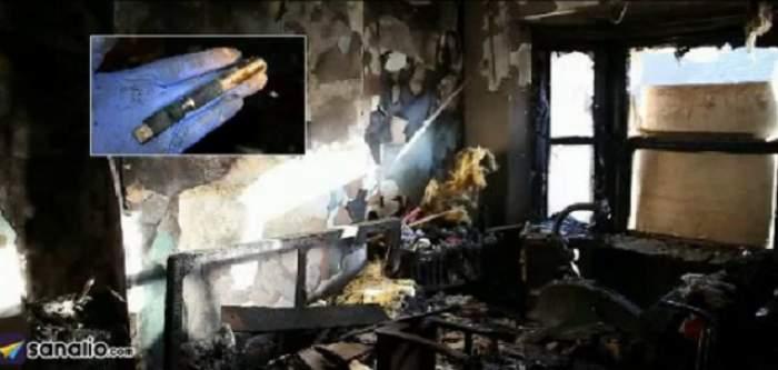 VIDEO / Crăciun distrus din cauza unei ţigări electronice! O familie a rămas pe drumuri