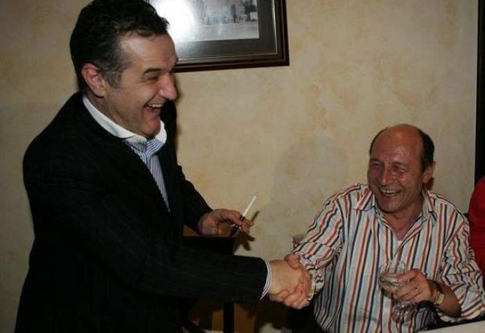 Veste bună pentru Gigi Becali! Decizia pe care a luat-o Traian Băsescu în urmă cu puţin timp