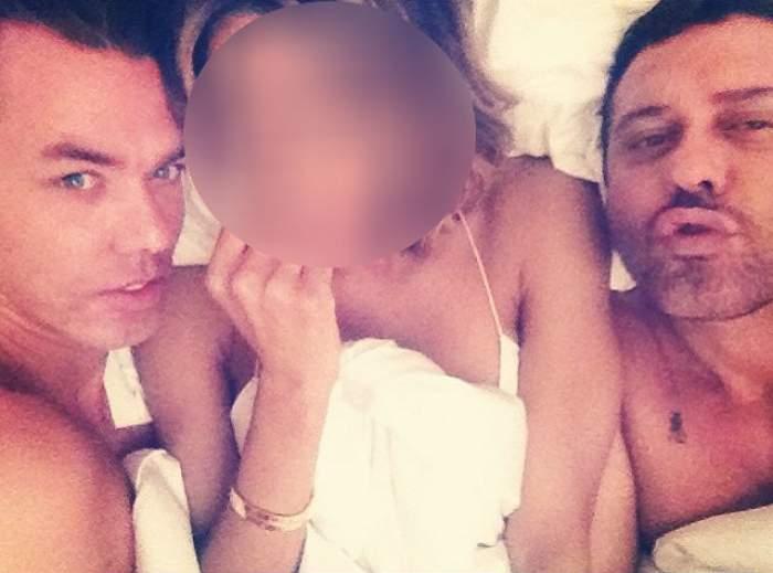 O recunoşti pe vedeta care s-a băgat în pat cu doi bărbaţi? Nici prin gând nu-ţi trecea că este vorba despre ea