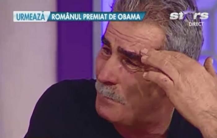 """George Râmaru nu s-a mai putut abţine şi a izbucnit în lacrimi! """"Mă voi răzbuna""""!"""