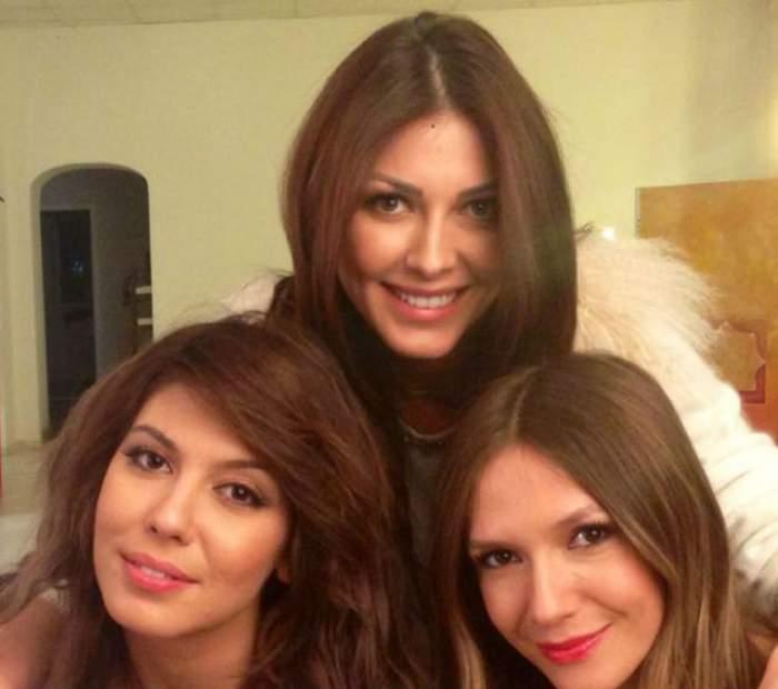 Petrec ca-ntre fete Ziua Îndrăgostiţilor! Ilinca Vandici, Sore şi Adela Popescu au făcut furori pe net cu poza asta