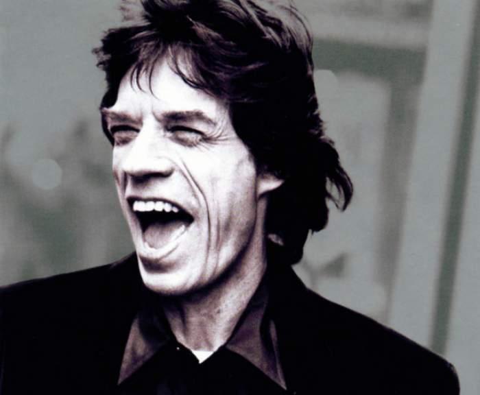 """Mick Jagger faţă în faţă cu Pavel Bartoş! Vocalistul Rolling Stones a fredonat piesa """"Cai verzi pe pereţi"""""""