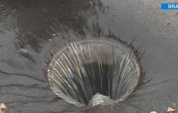 """VIDEO """"Dorel"""" tace şi le face! A lăsat un cartier fără apă potabilă după ce a lovit în... ţevi"""